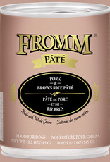 Fromm Pork & Brown Rice Pate 12oz