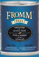 Fromm Whitefish & Lentil Pate 12oz