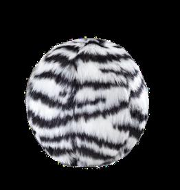 Fluff & Tuff Zebra Ball S