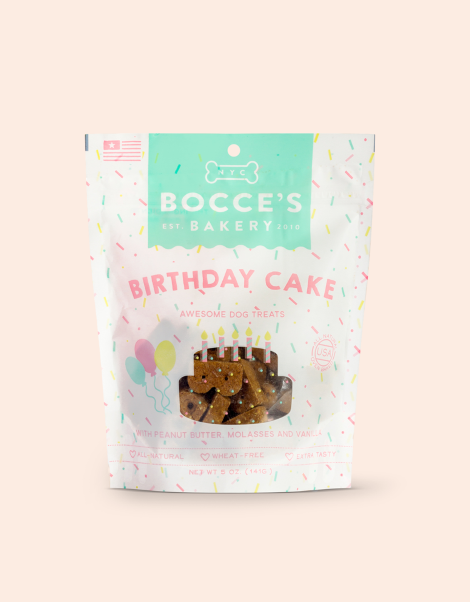 Bocce's Bakery Birthday Cake 5oz