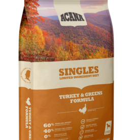Acana Singles Turkey & Greens 13lb
