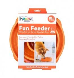 Outward Hound Fun Feeder - Orange Small