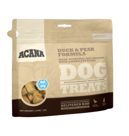 Acana Duck Pear Dog Treat 3.25oz