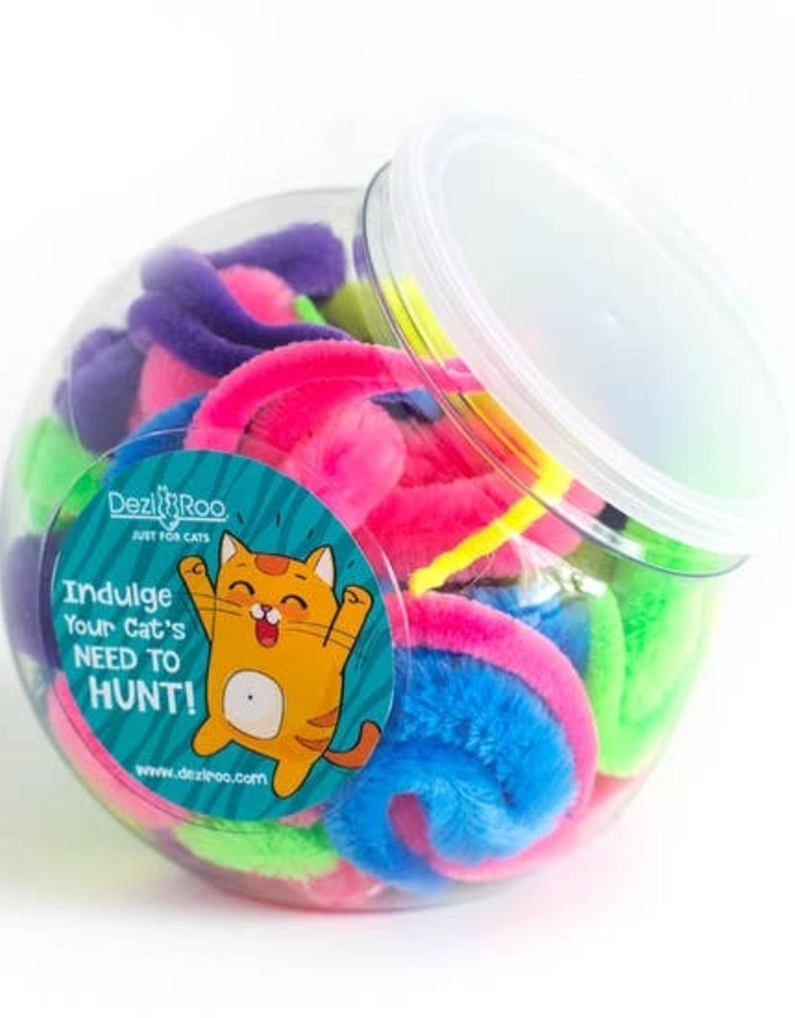 Dezi & Roo Wiggly Worm Glow Ball
