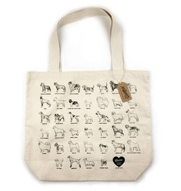 Milltown Brand Dog Breed Tote