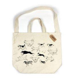 Milltown Brand Dog Run Tote Bag