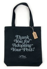 Milltown Brand Thank You for Adopting Tote - Black