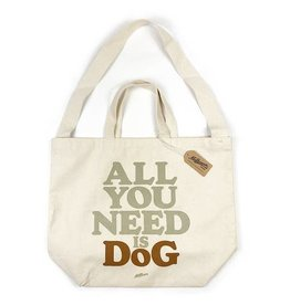 Milltown Brand All You Need is Dog Tote Bag