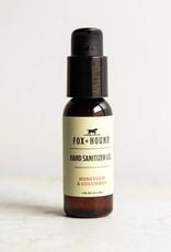 Fox & Hound Hand Sanitizer Gel Travel Size Honeydew + Cucumber  1 oz