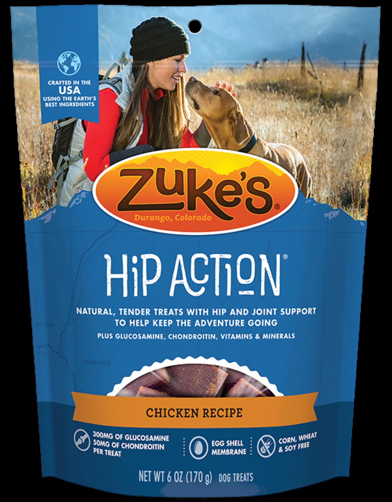 Zuke's Zuke's Hip Action Chicken 6oz