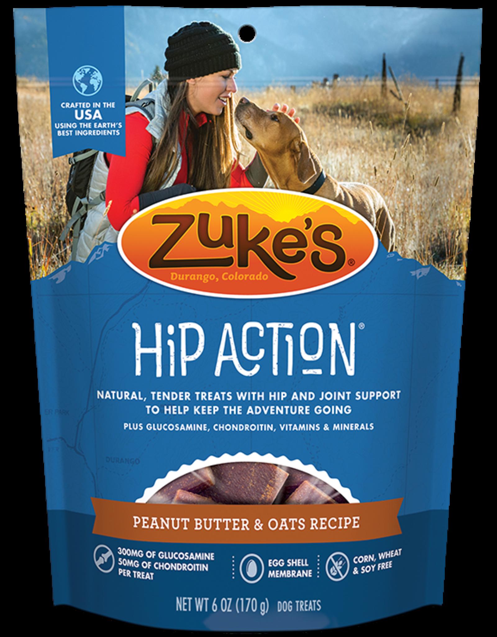 Zuke's Zuke's Hip Action Peanut Butter 6oz