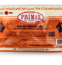 Primal Beef Marrow Bone 6-pack