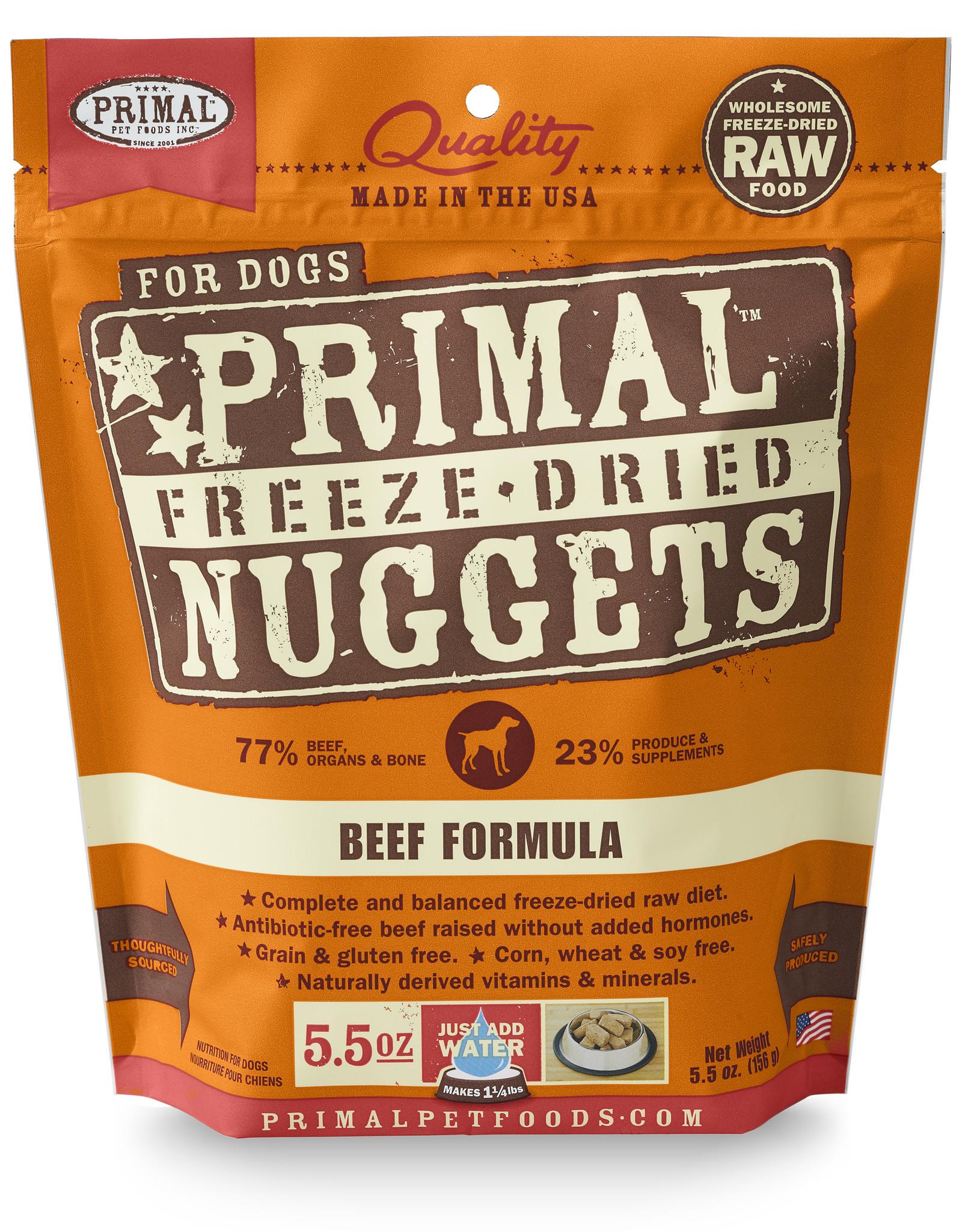 Primal Freeze-Dried Beef 5.5oz