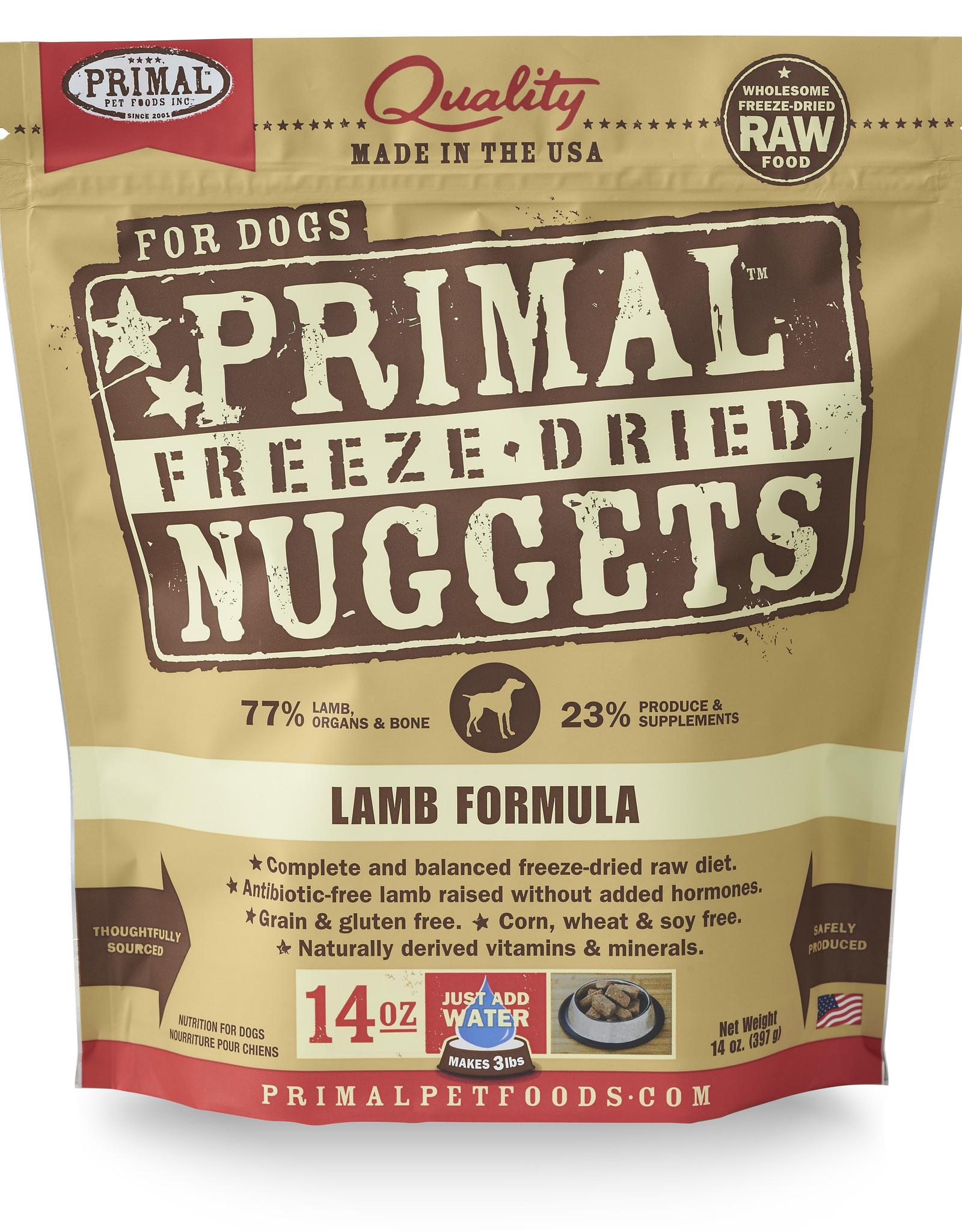 Primal Freeze-Dried Lamb 14oz