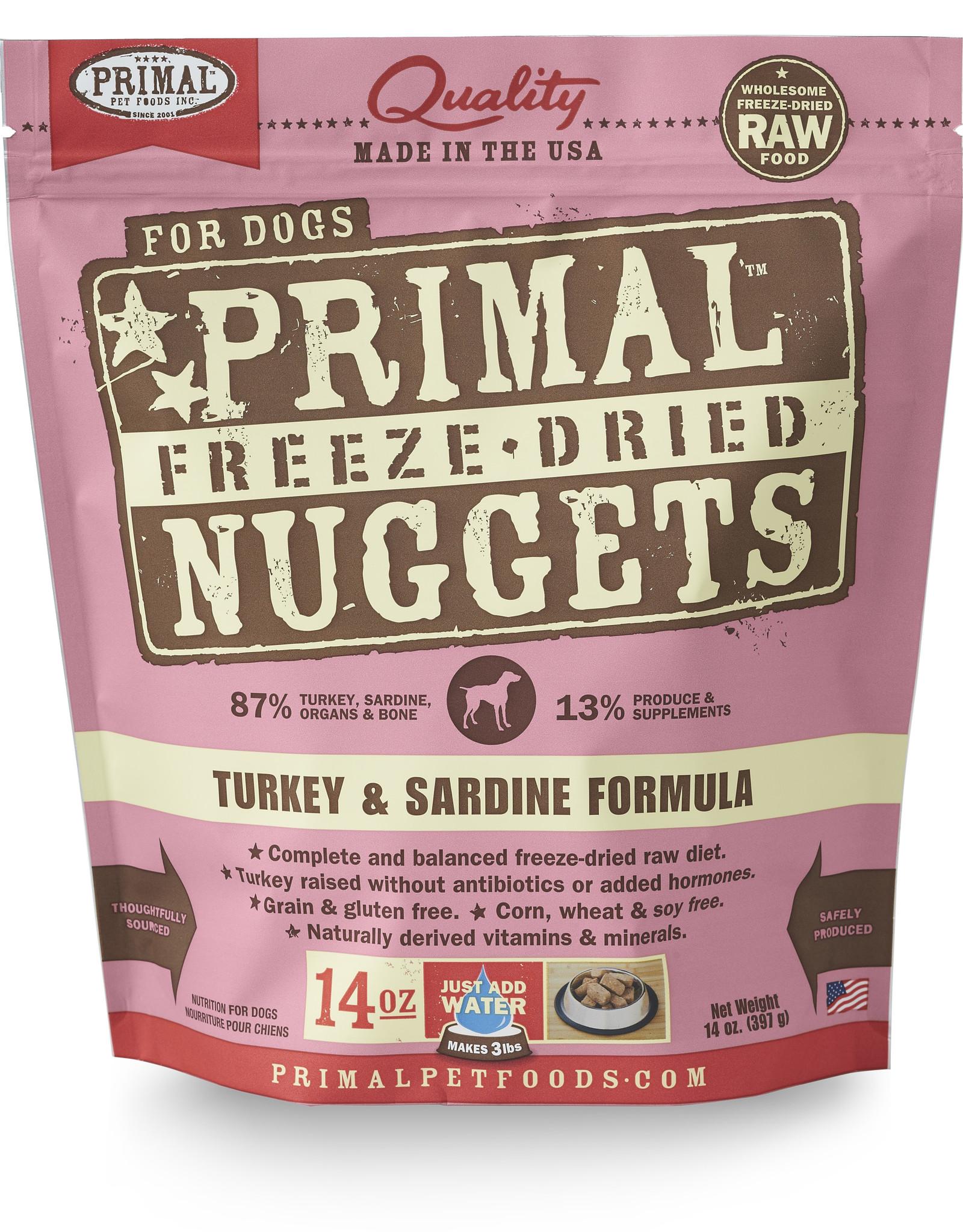 Primal Freeze-Dried Turkey & Sardine 14oz