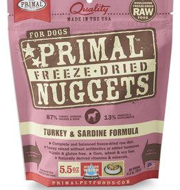 Primal Freeze-Dried Turkey & Sardine 5.5oz