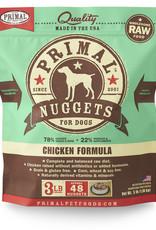Primal Canine Frozen Chicken 3lb