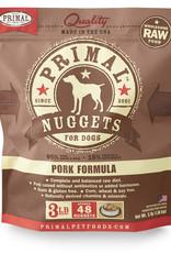 Primal Canine Frozen Pork 3lb