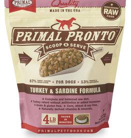 Primal Primal Pronto Turkey & Sardine 4lb