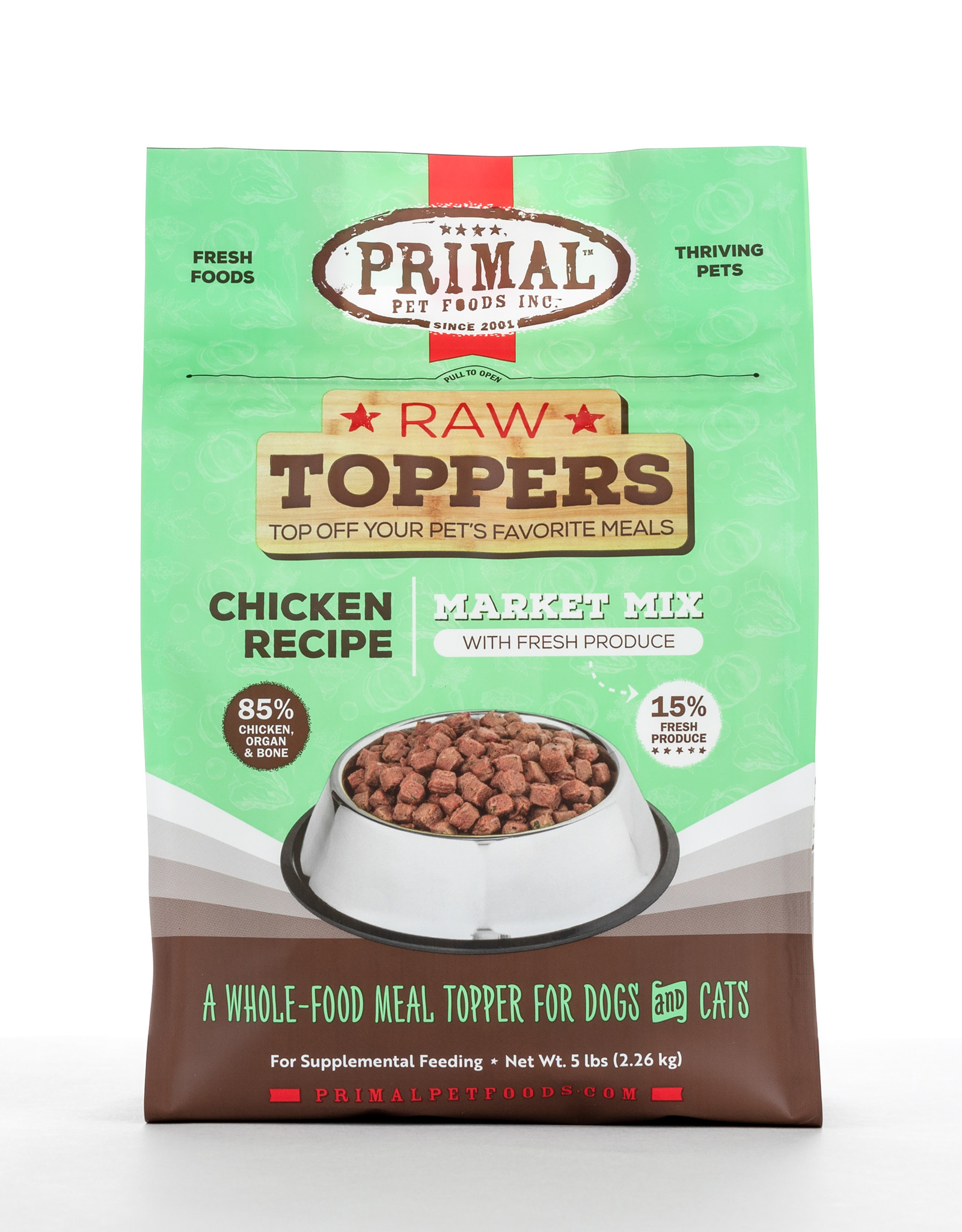 Primal Market Mix Chicken 5lb