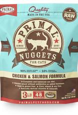 Primal Feline Frozen Chicken & Salmon 3lb