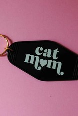 A Shop of Things Cat Mom Keyring