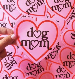 A Shop of Things Dog Mom Sticker