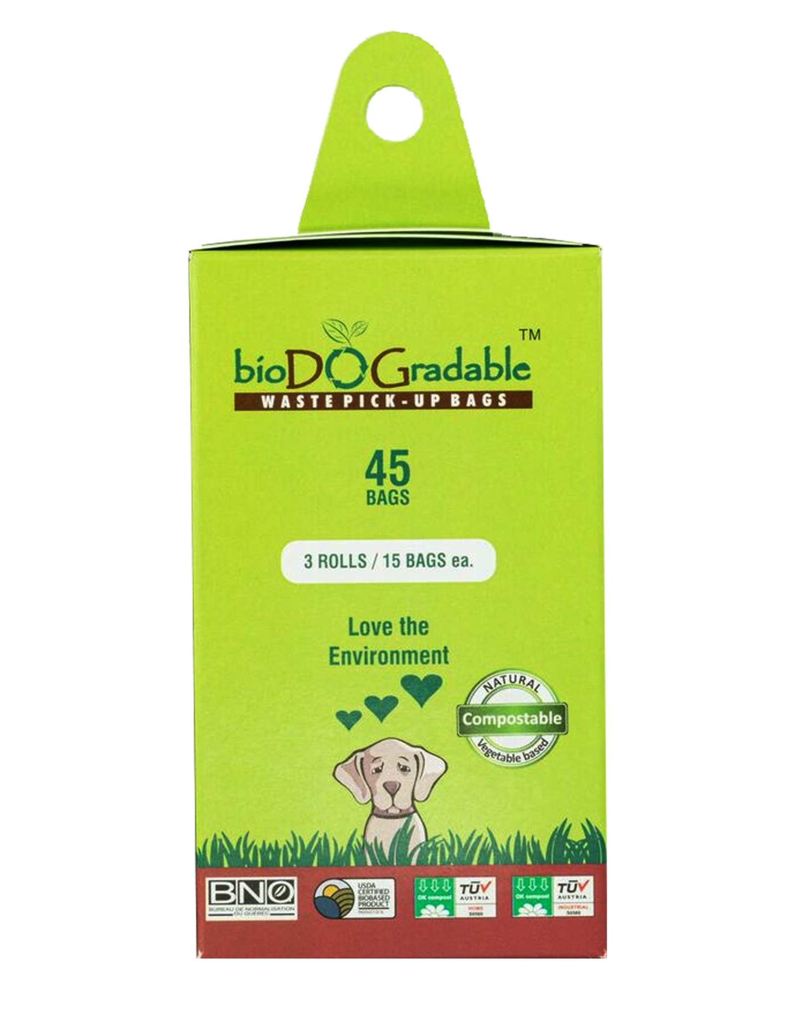 Beyond Green Compostable Poo Bag 3-Pack