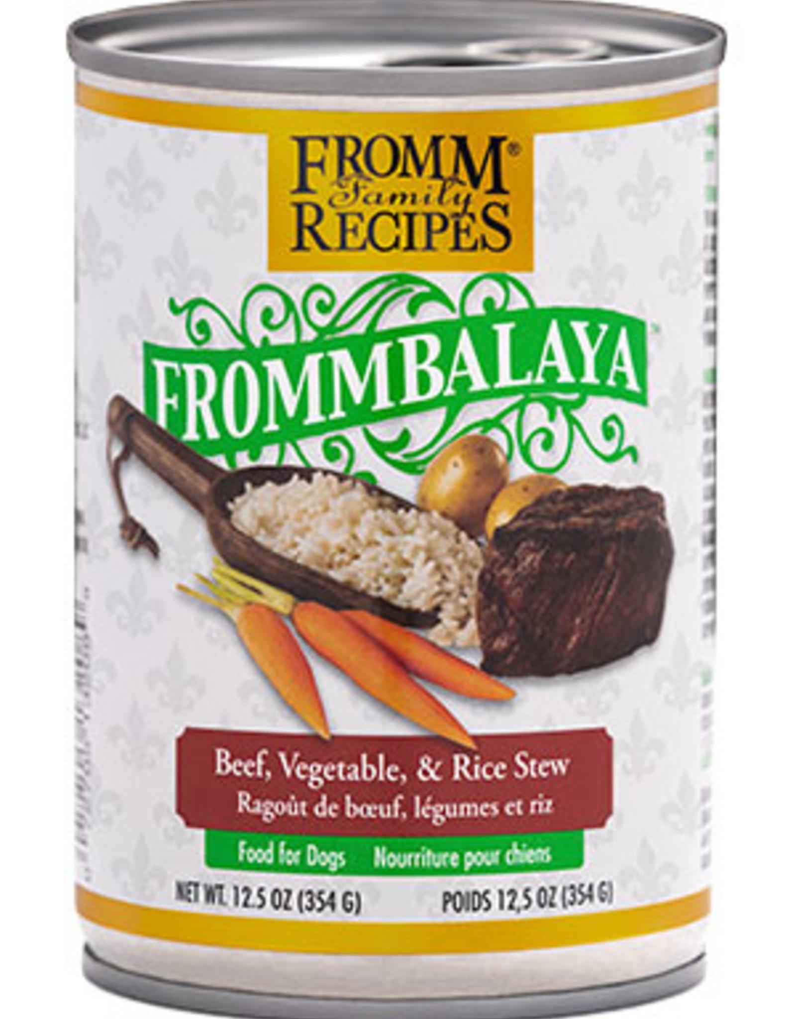 Fromm Beef, Vegetable, & Rice Stew 12.5oz