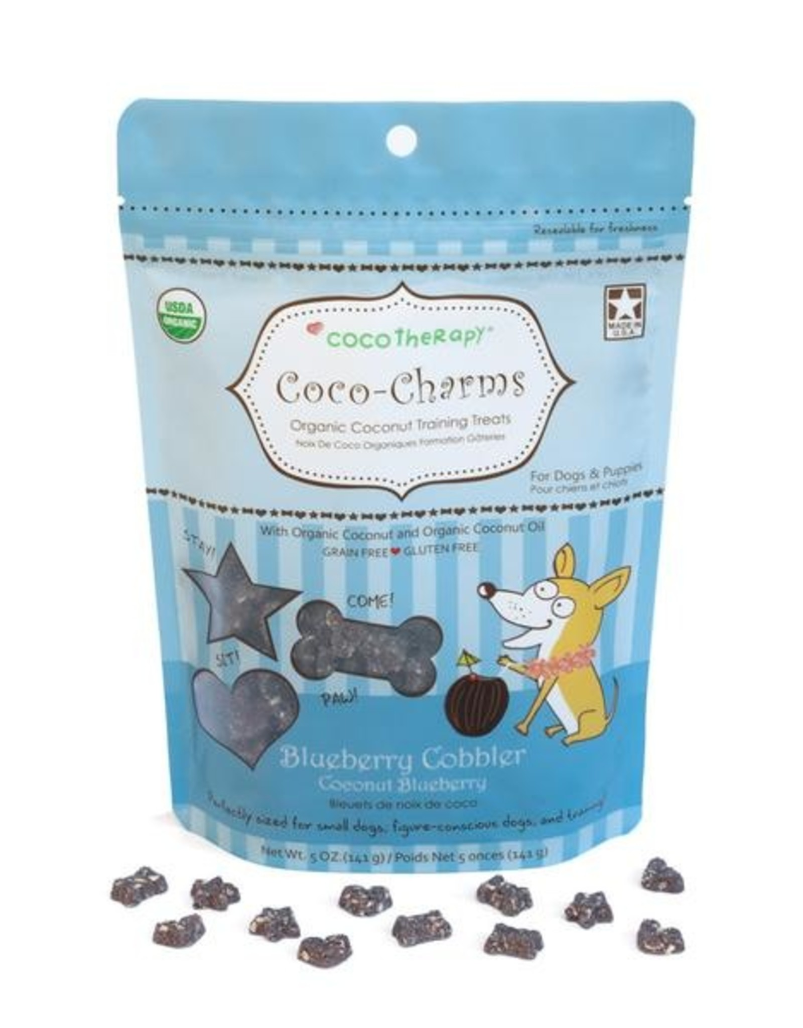 Coco Therapy Coco Charms Blueberry Cobble