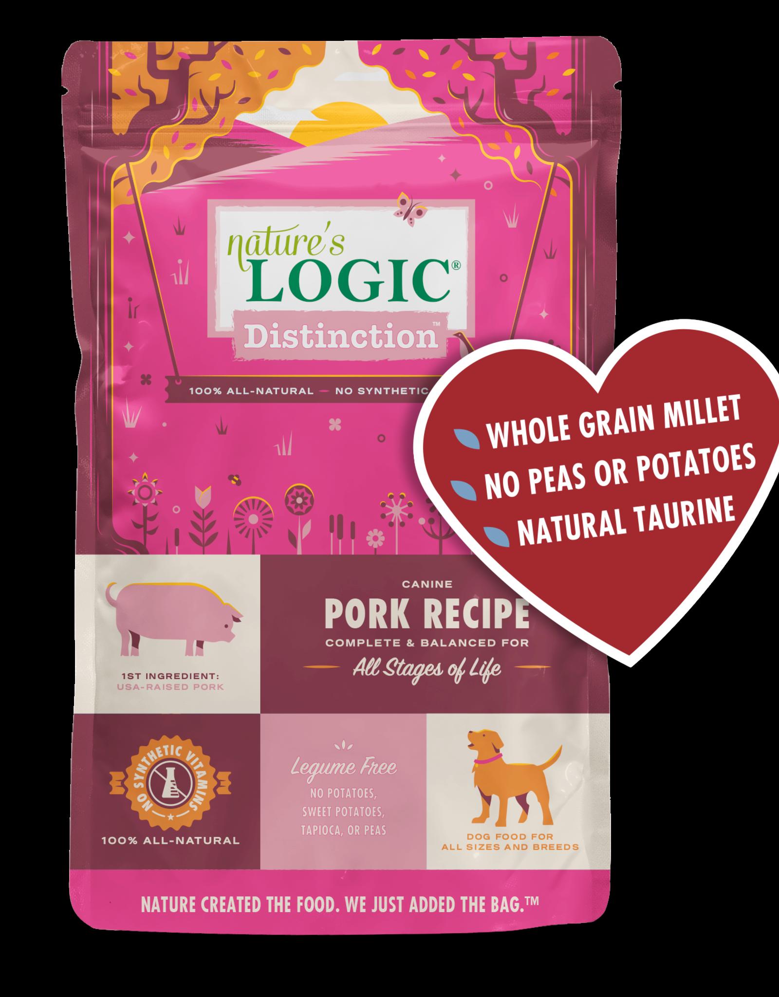 Nature's Logic Nature's Logic Distinction - Pork 12lb
