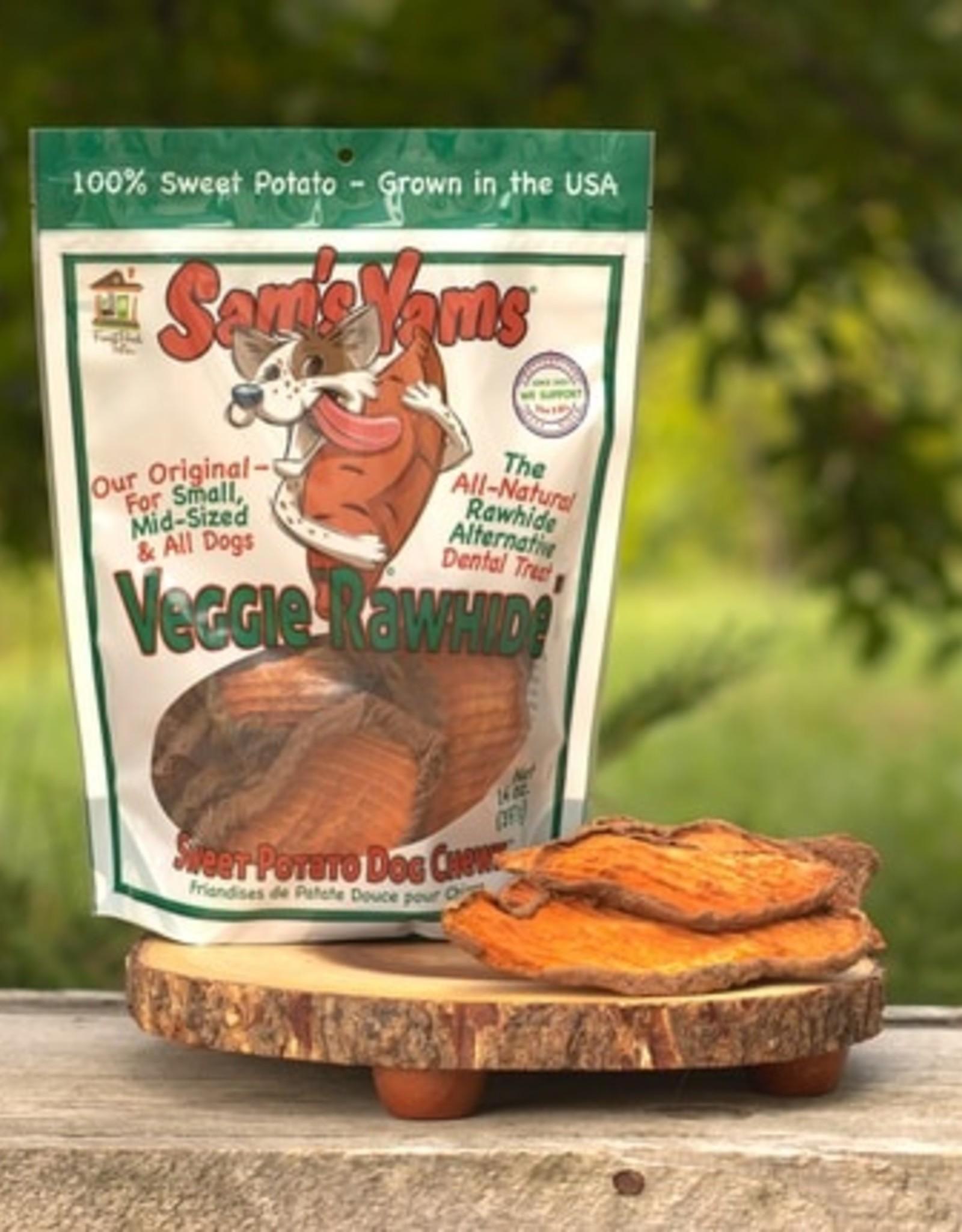 Front Porch Pets Sam's Yams Veggie Rawhide 1lb