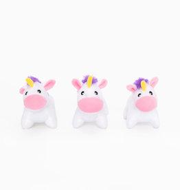 Zippy Paws Unicorn Miniz 3 Pack