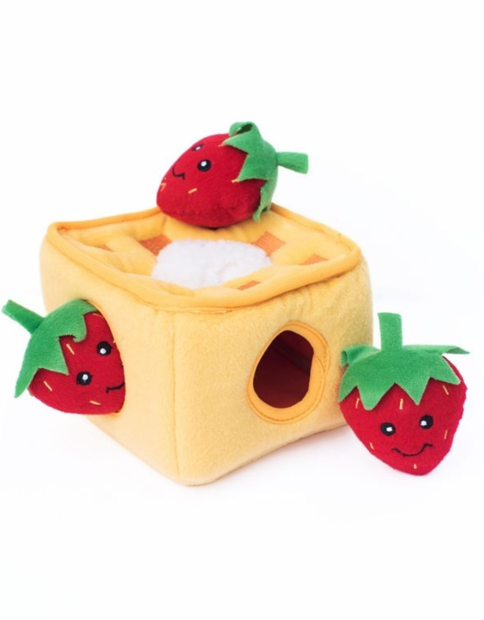 Zippy Paws Strawberry Waffles Burrow