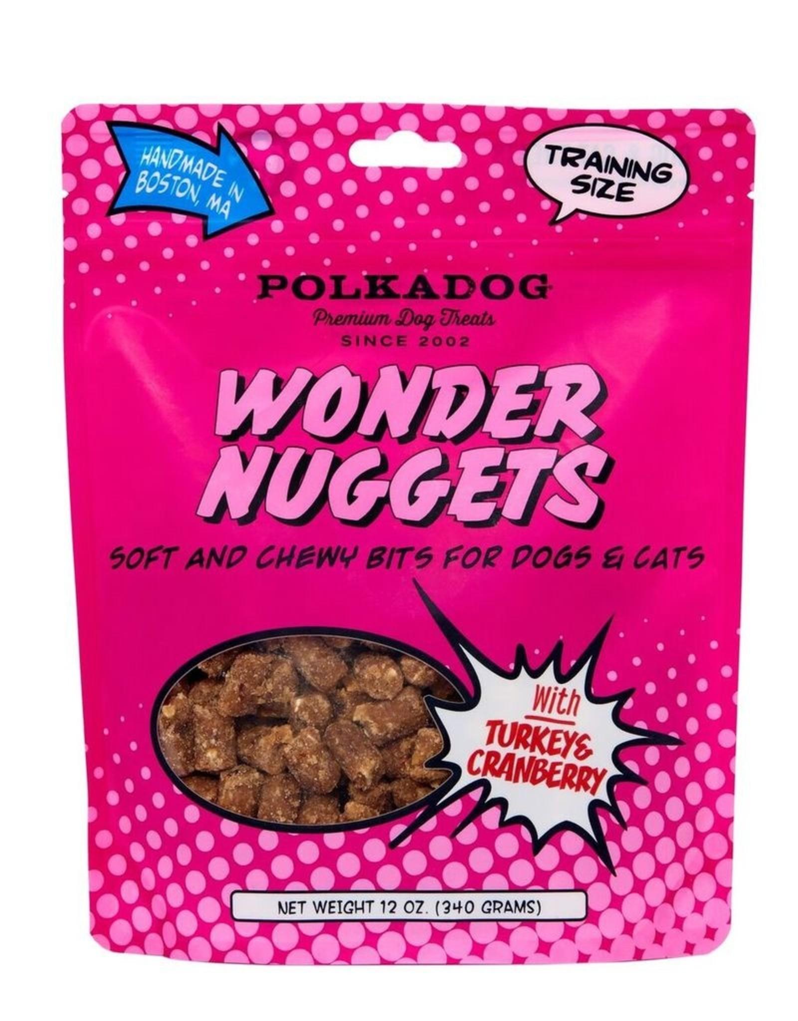 Polka Dog Bakery Wonder Nuggets Turkey & Cranberry 12oz