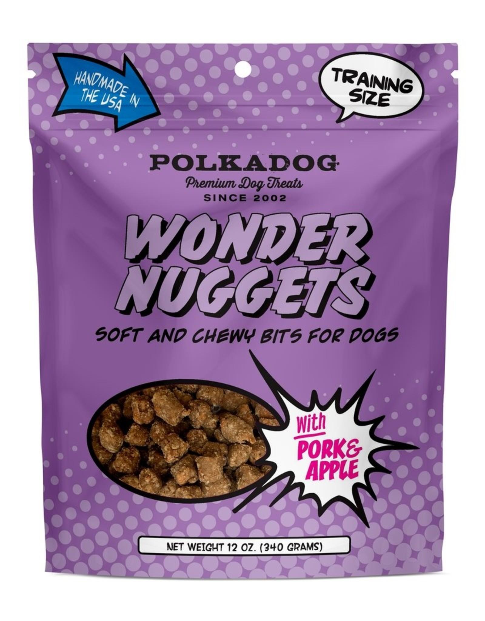 Polka Dog Bakery Wonder Nuggets Pork  & Apple 12oz