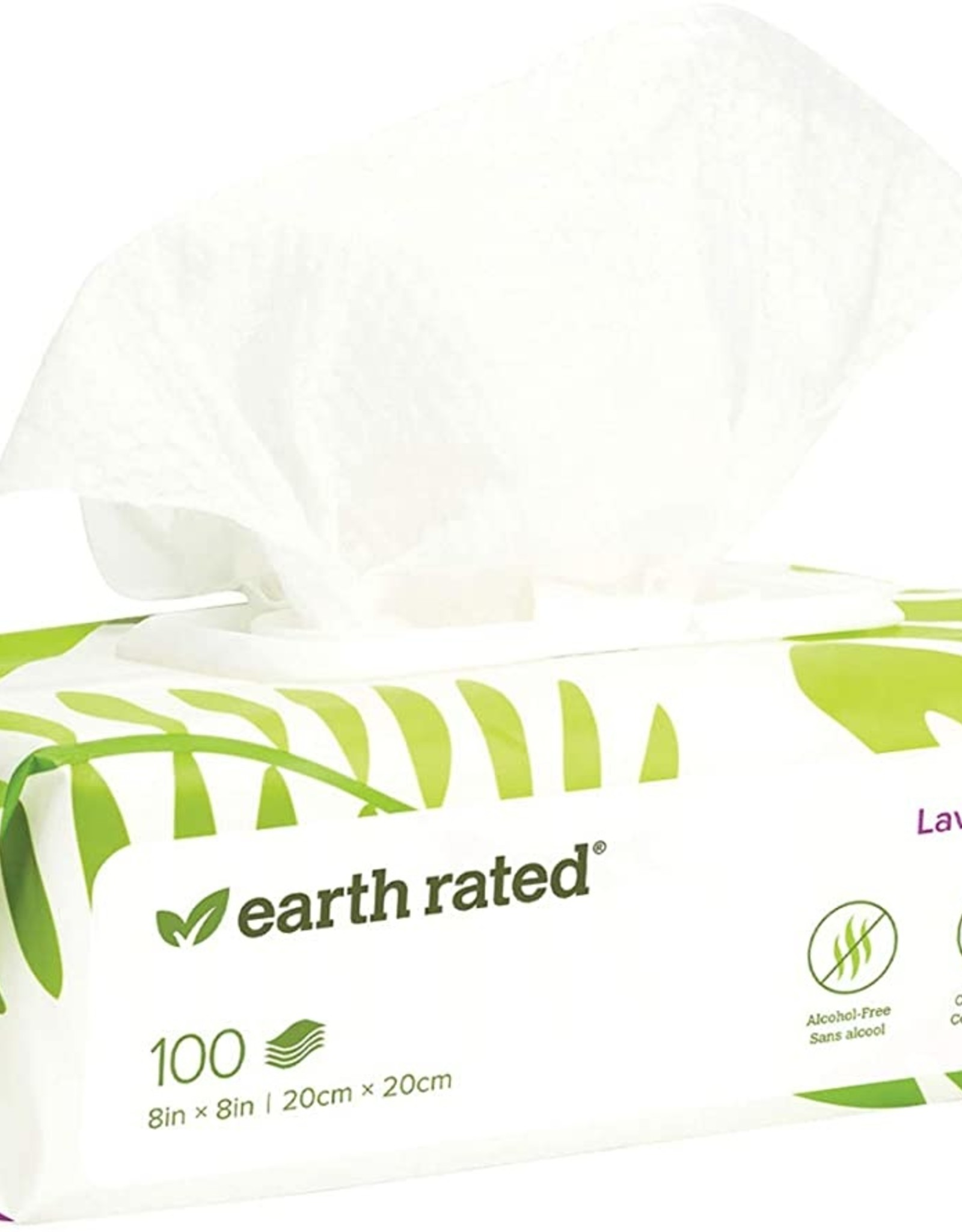 Earth Rated Lavender Wipes