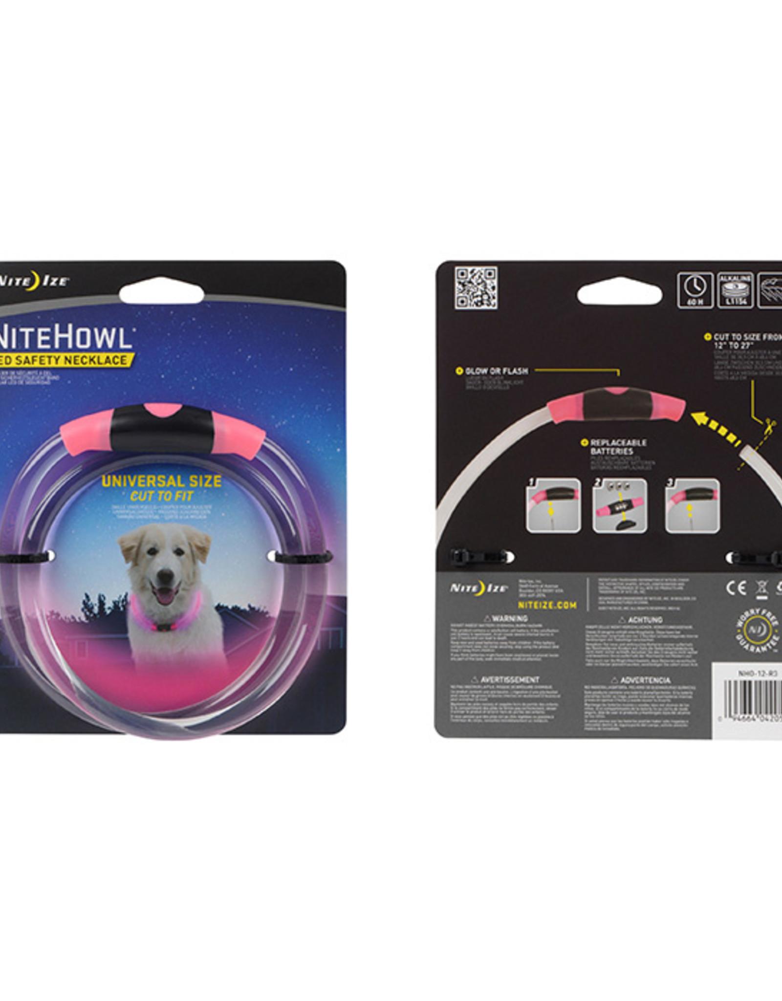 Nite-Ize NiteHowl LED Collar - Pink