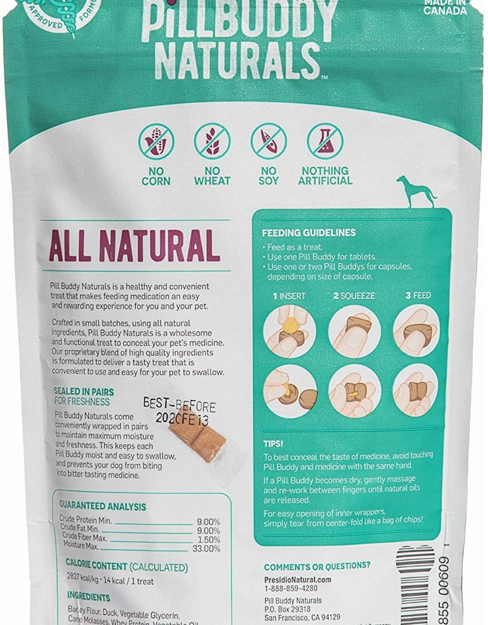 Complete Natural Nutrition Pill Buddy - Duck