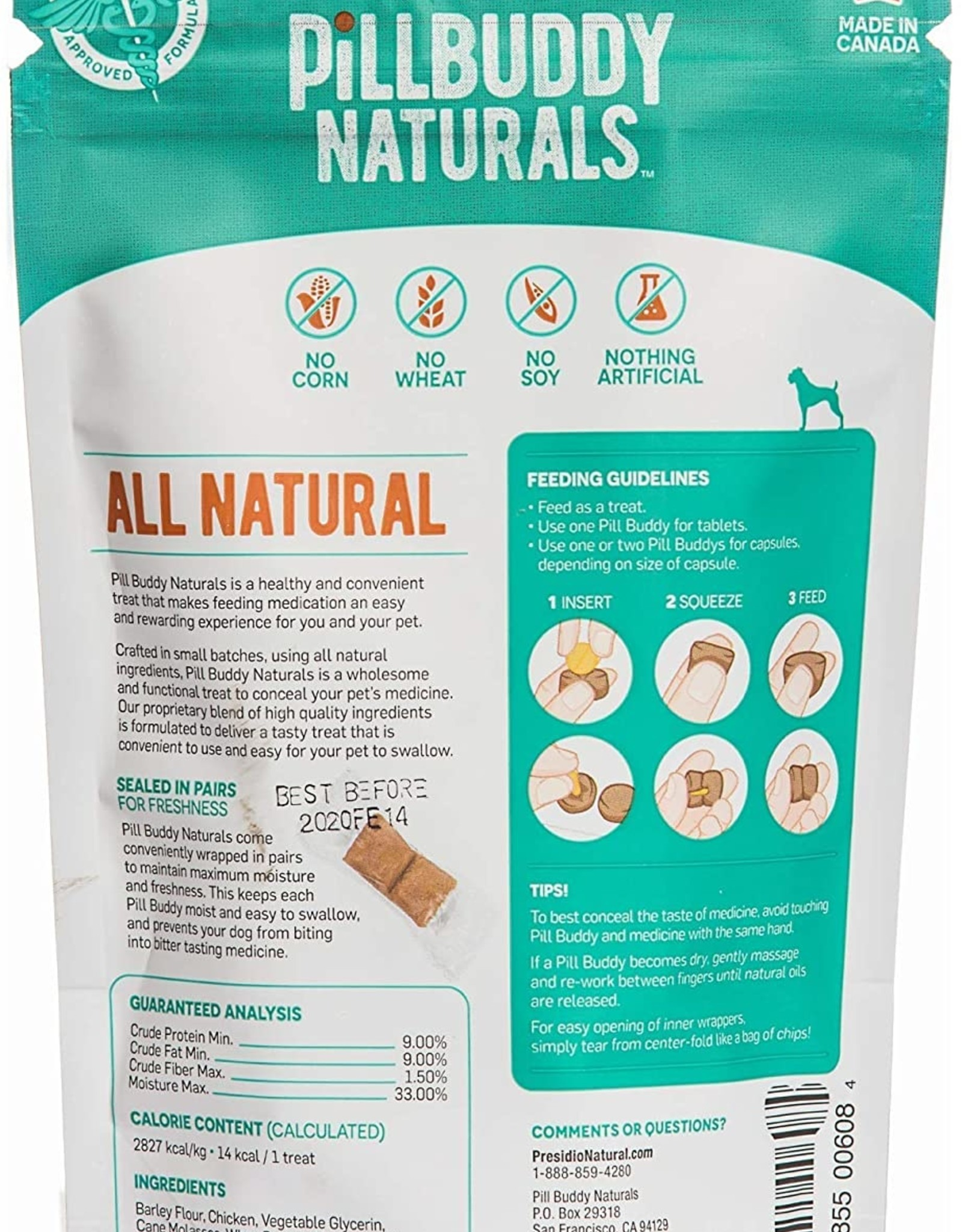 Complete Natural Nutrition Pill Buddy - Chicken
