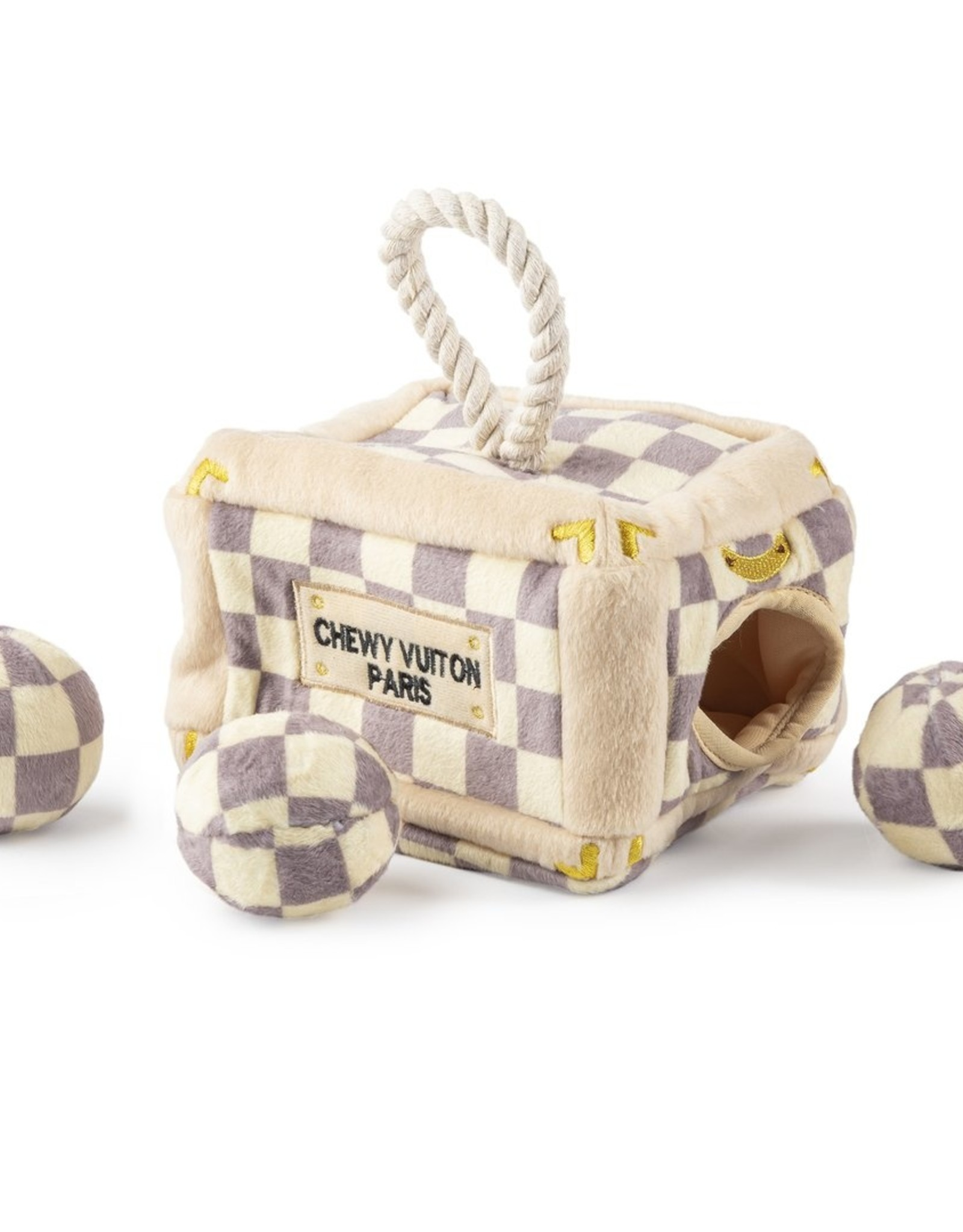 Haute Diggity Dog Interactive - Checkered Chewy Vuitton
