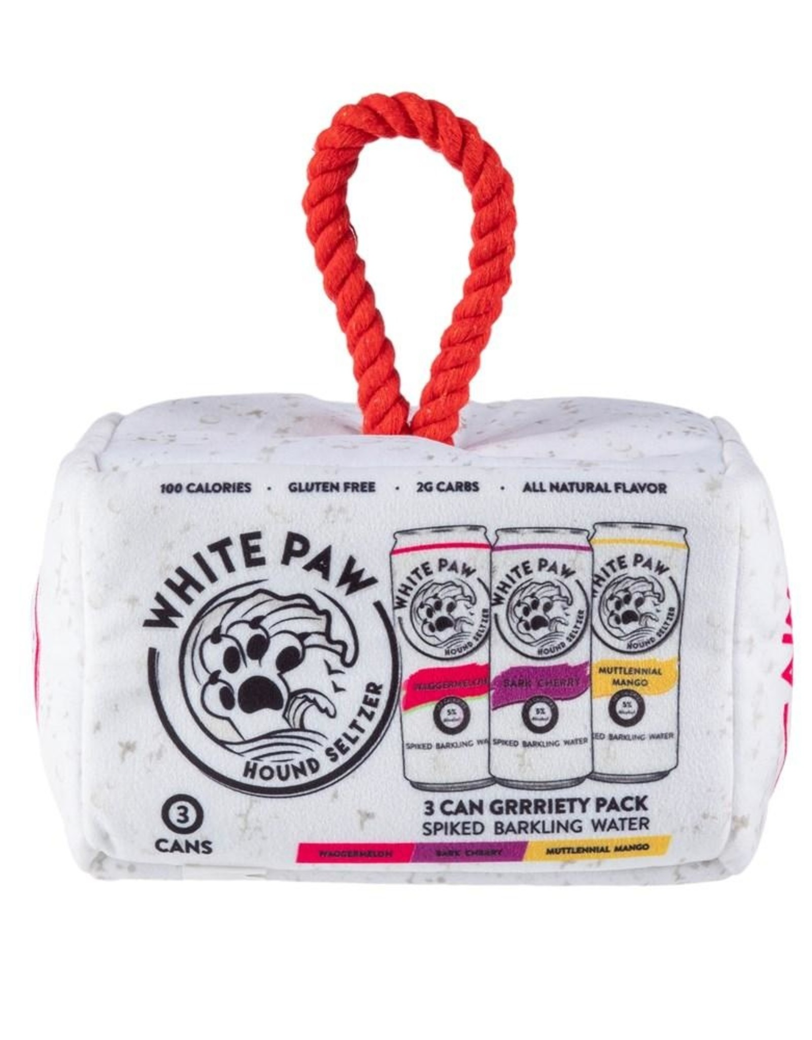 Haute Diggity Dog White Paw Interactive Toy