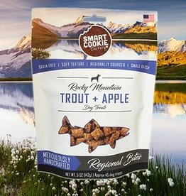 Smart Cookie Barkery Trout & Apple Dog Treats