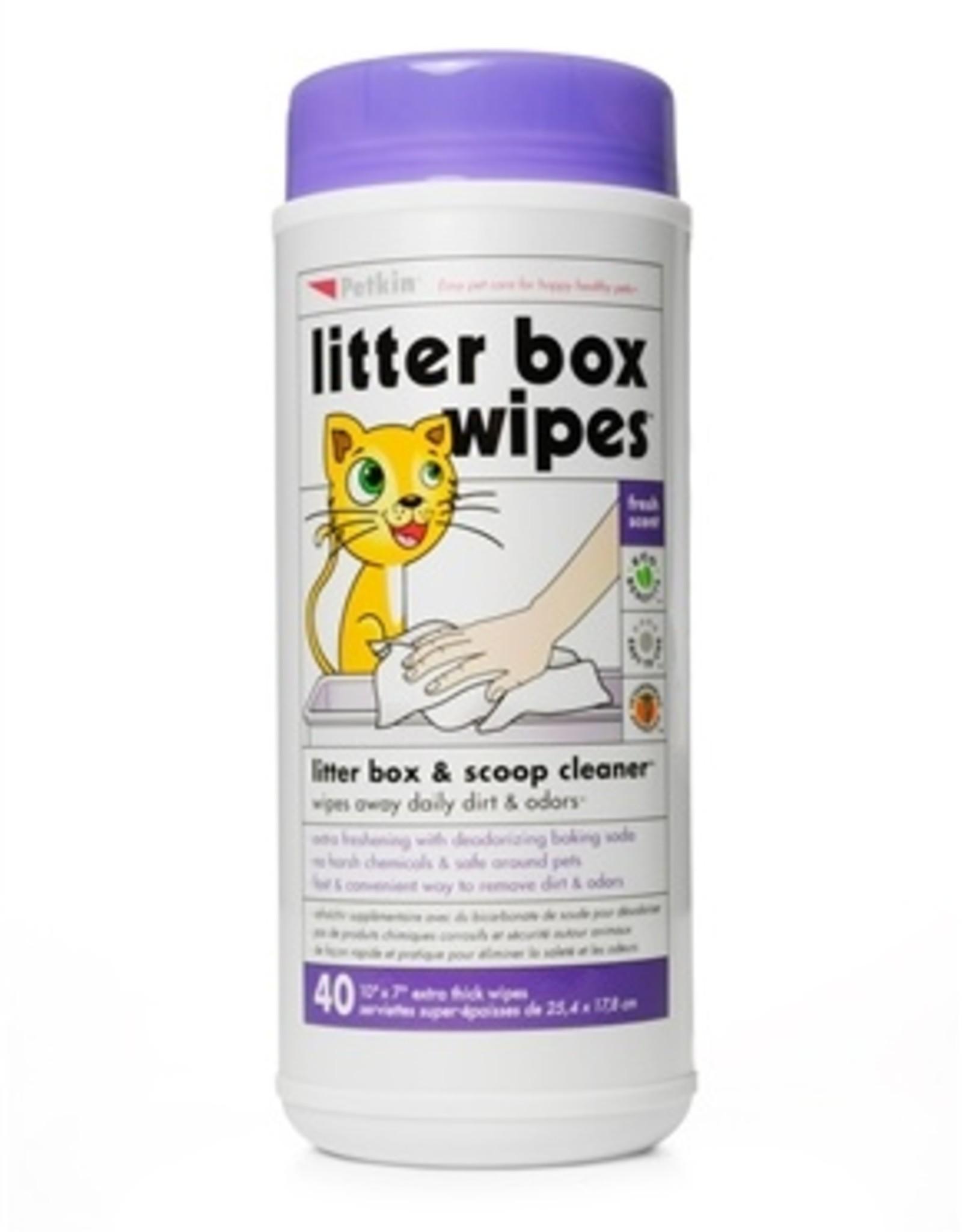 PetKin Petkin - Litter Box Wipes