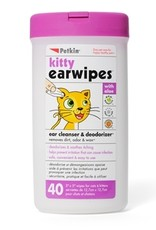 PetKin Petkin - Kitty Earwipes 40ct