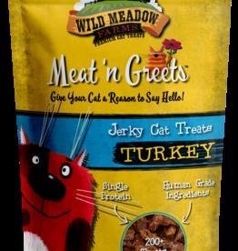 Wild Meadow Farms Meat N Greets Turkey Cat Treats