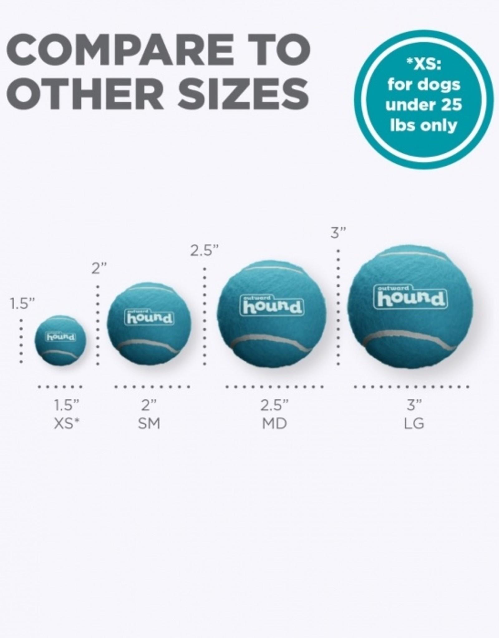 Outward Hound Squeaker Ballz Small 4 -Pack