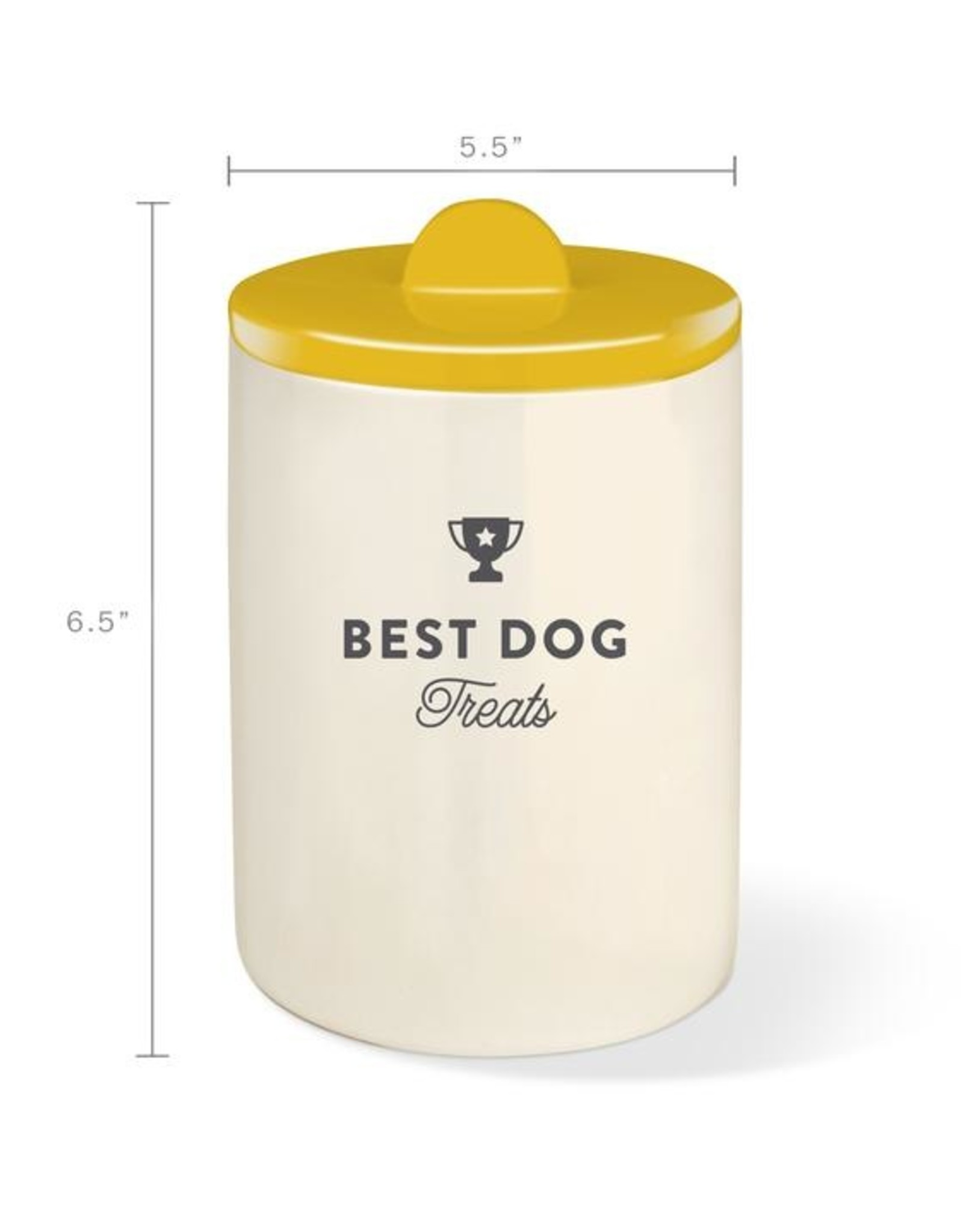 Fringe Studio Treat Jar - Best Dog