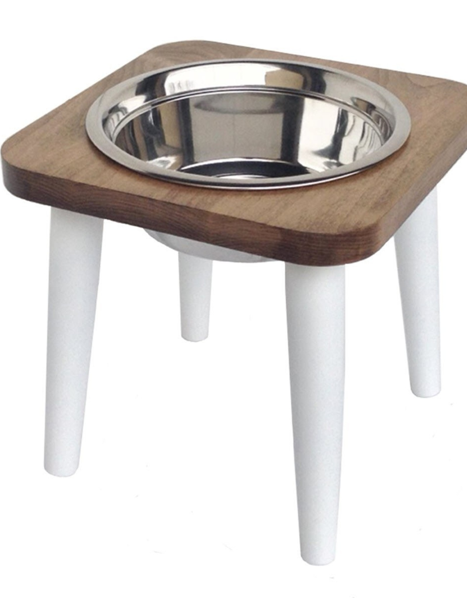 Pets Stop Single Maple Feeder - Small