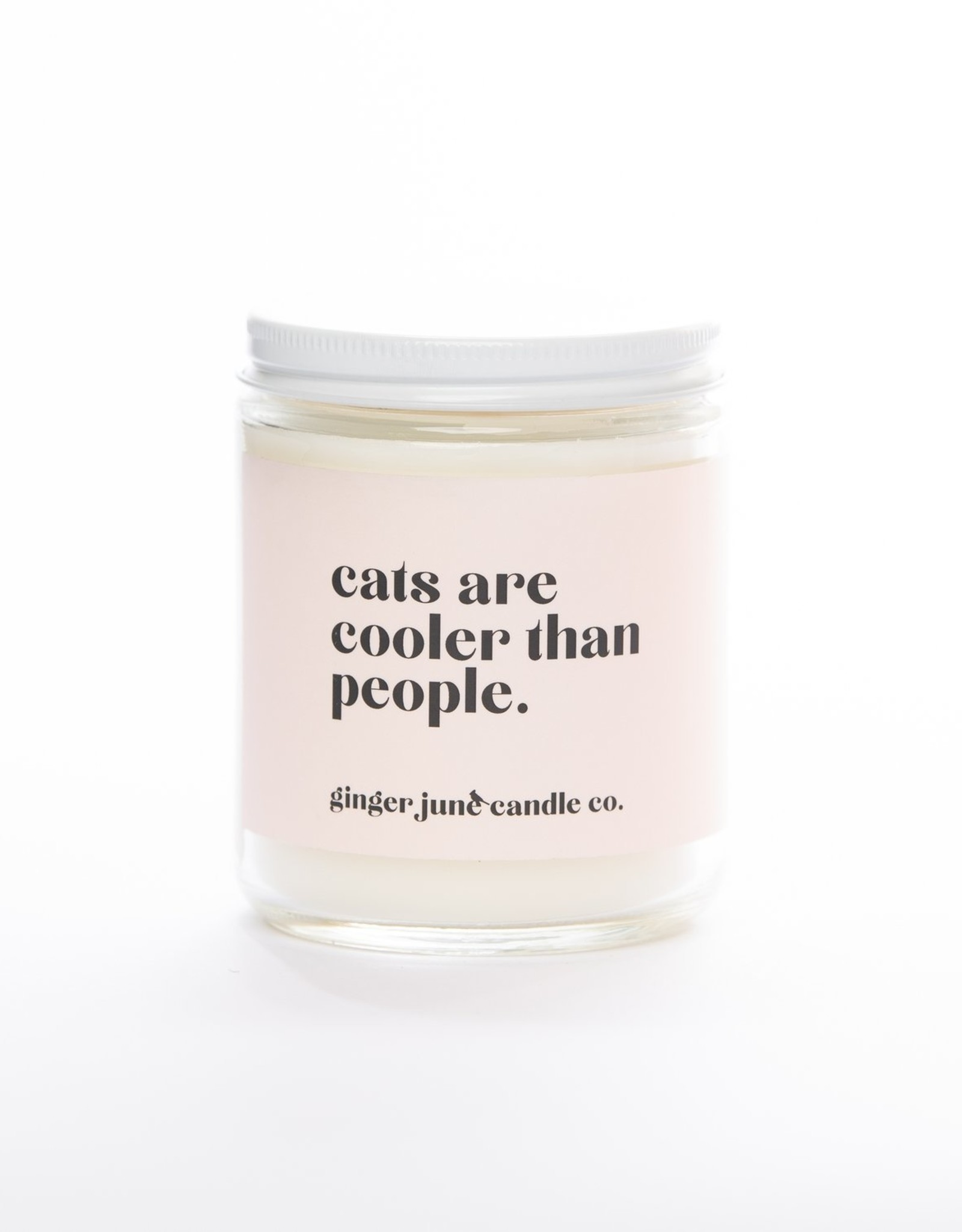 Ginger June Candle Co. Candle -cats are cooler than people